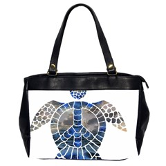 Peace Turtle Oversize Office Handbag (two Sides) by oddzodd