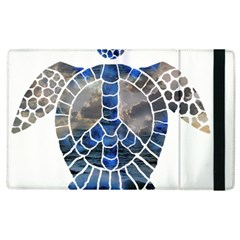Peace Turtle Apple Ipad 2 Flip Case by oddzodd