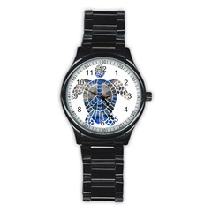 Peace Turtle Sport Metal Watch (black) by oddzodd