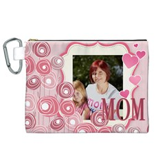 Mothers Day By Jacob   Canvas Cosmetic Bag (xl)   Bzmz406wsrpo   Www Artscow Com Front