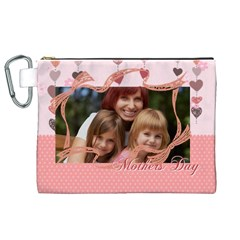 Mothers Day By Jacob   Canvas Cosmetic Bag (xl)   Nn37ihaqlrfu   Www Artscow Com Front