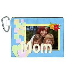 Mothers Day By Jacob   Canvas Cosmetic Bag (xl)   Mvwujow3bdpz   Www Artscow Com Front