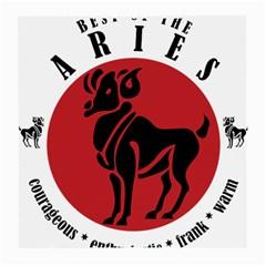 Aries Horoscope Zodiac Sign Birthday Glasses Cloth (medium) by tematika