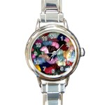 YARN Round Italian Charm Watch