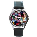 YARN Round Metal Watch