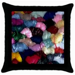 YARN Throw Pillow Case (Black)