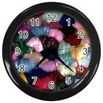 YARN Wall Clock (Black)