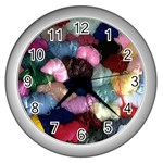 YARN Wall Clock (Silver)