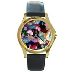 YARN Round Gold Metal Watch
