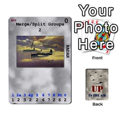 Up In The Air Extra By Lour   Playing Cards 54 Designs   Yorzkzj0q91z   Www Artscow Com Front - Club8