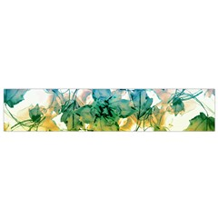 Multicolored Floral Swirls Flano Scarf (small) by dflcprintsclothing