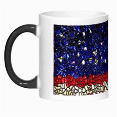 American Flag Mosaic Morph Mug by bloomingvinedesign