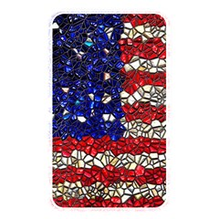 American Flag Mosaic Memory Card Reader (rectangular) by bloomingvinedesign