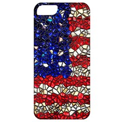 American Flag Mosaic Apple Iphone 5 Classic Hardshell Case by bloomingvinedesign