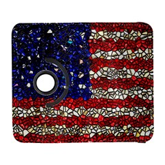 American Flag Mosaic Samsung Galaxy S  Iii Flip 360 Case by bloomingvinedesign