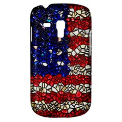 American Flag Mosaic Samsung Galaxy S3 Mini I8190 Hardshell Case by bloomingvinedesign