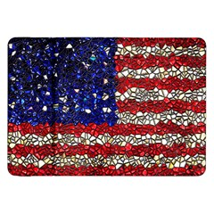 American Flag Mosaic Samsung Galaxy Tab 8 9  P7300 Flip Case by bloomingvinedesign