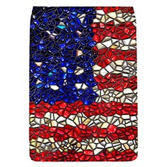 American Flag Mosaic Removable Flap Cover (small) by bloomingvinedesign