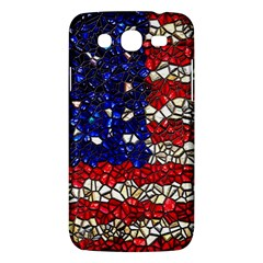 American Flag Mosaic Samsung Galaxy Mega 5 8 I9152 Hardshell Case  by bloomingvinedesign