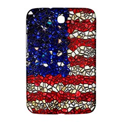 American Flag Mosaic Samsung Galaxy Note 8 0 N5100 Hardshell Case  by bloomingvinedesign