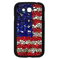 American Flag Mosaic Samsung Galaxy Grand Duos I9082 Case (black) by bloomingvinedesign