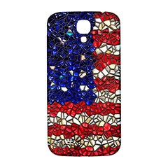 American Flag Mosaic Samsung Galaxy S4 I9500/i9505  Hardshell Back Case by bloomingvinedesign