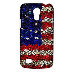 American Flag Mosaic Samsung Galaxy S4 Mini (gt I9190) Hardshell Case  by bloomingvinedesign