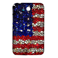 American Flag Mosaic Samsung Galaxy Tab 3 (7 ) P3200 Hardshell Case  by bloomingvinedesign