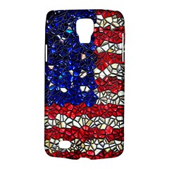American Flag Mosaic Samsung Galaxy S4 Active (i9295) Hardshell Case by bloomingvinedesign
