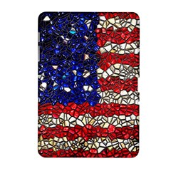 American Flag Mosaic Samsung Galaxy Tab 2 (10 1 ) P5100 Hardshell Case  by bloomingvinedesign