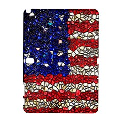 American Flag Mosaic Samsung Galaxy Note 10 1 (p600) Hardshell Case by bloomingvinedesign