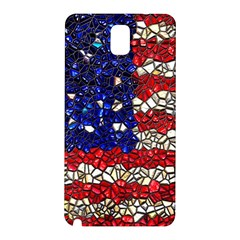 American Flag Mosaic Samsung Galaxy Note 3 N9005 Hardshell Back Case by bloomingvinedesign
