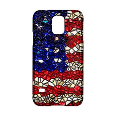 American Flag Mosaic Samsung Galaxy S5 Hardshell Case  by bloomingvinedesign