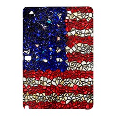 American Flag Mosaic Samsung Galaxy Tab Pro 10 1 Hardshell Case by bloomingvinedesign