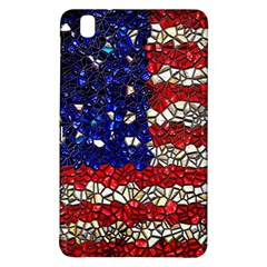 American Flag Mosaic Samsung Galaxy Tab Pro 8 4 Hardshell Case by bloomingvinedesign