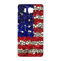 American Flag Mosaic Samsung Galaxy Alpha Hardshell Back Case by bloomingvinedesign