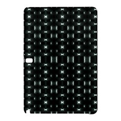 Futuristic Dark Hexagonal Grid Pattern Design Samsung Galaxy Tab Pro 10 1 Hardshell Case by dflcprints