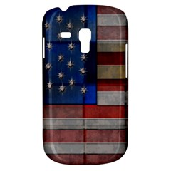 American Flag Quilt Samsung Galaxy S3 Mini I8190 Hardshell Case by bloomingvinedesign