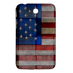 American Flag Quilt Samsung Galaxy Tab 3 (7 ) P3200 Hardshell Case  by bloomingvinedesign