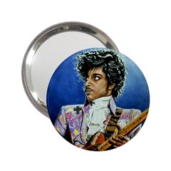 The Purple Rain Tour Handbag Mirror (2.25 ) by retz
