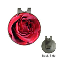 An Open Rose Hat Clip With Golf Ball Marker by bloomingvinedesign