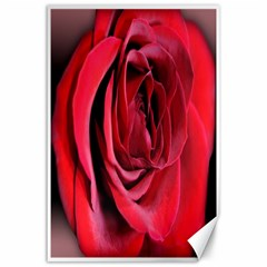 An Open Rose Canvas 24  X 36  (unframed) by bloomingvinedesign