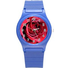 An Open Rose Plastic Sport Watch (small) by bloomingvinedesign
