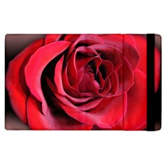 An Open Rose Apple Ipad 3/4 Flip Case by bloomingvinedesign