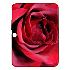 An Open Rose Samsung Galaxy Tab 3 (10 1 ) P5200 Hardshell Case  by bloomingvinedesign