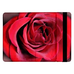 An Open Rose Samsung Galaxy Tab Pro 12 2  Flip Case by bloomingvinedesign