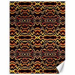 Tribal Art Abstract Pattern Canvas 18  X 24  (unframed) by dflcprints