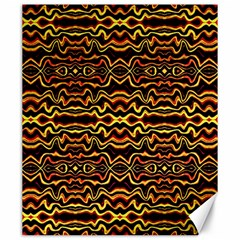 Tribal Art Abstract Pattern Canvas 20  X 24  (unframed) by dflcprints