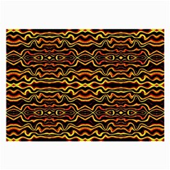 Tribal Art Abstract Pattern Glasses Cloth (large, Two Sided) by dflcprints