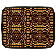 Tribal Art Abstract Pattern Netbook Sleeve (xxl) by dflcprints